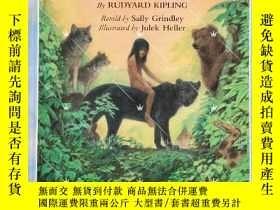 二手書博民逛書店精裝大開本The罕見Jungle Book 改寫版Y264589 Rudyard Kipling; Sally