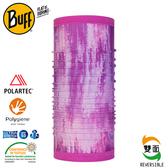 【BUFF 西班牙 雙面Polar 保暖頭巾 Plus 粉紫珍珠】120937/圍脖/帽子/口罩/圍巾/快乾透氣