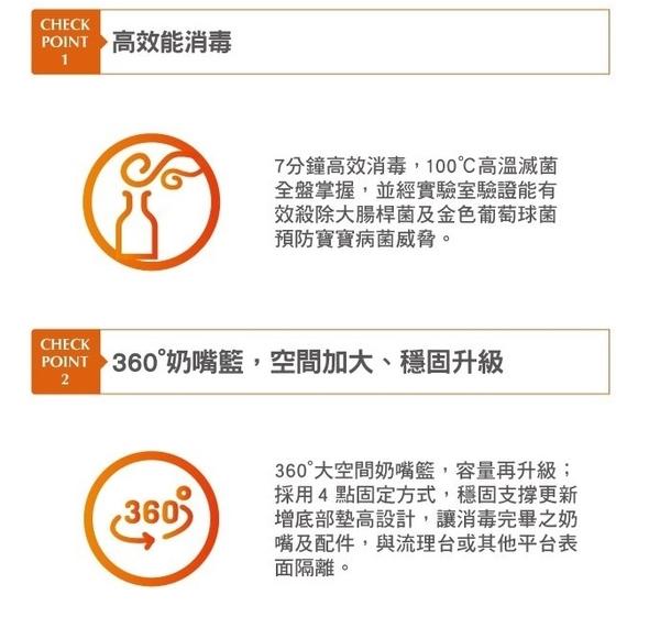 康貝Combi Pro360 高效烘乾消毒鍋 (優雅粉4719873591992) 2790元+贈消毒鍋水垢清潔劑