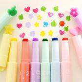 ✭米菈生活館✭【P138】多功能糖果色印章筆 標記筆 學生用品 設計 辦公用品 多色 創意 文具