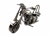 創意小工藝品家居裝飾品 鐵藝哈雷摩托車模型擺件 ZAKKA風 機車擺設品