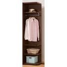【森可家居】卡爾頓1.5尺開放衣櫃 7Z...