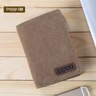 【TROOP】經典品格CLASSIC錢包/TRP0399BN(棕色)