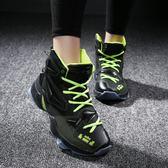 耐磨籃球鞋男子高筒戰靴中學生運動鞋男鞋實戰低筒藍球鞋【全館免運】