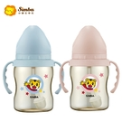 小獅王辛巴 Simba 巧虎PPSU寬口吸管把手小奶瓶-藍色/粉色 (200ml)