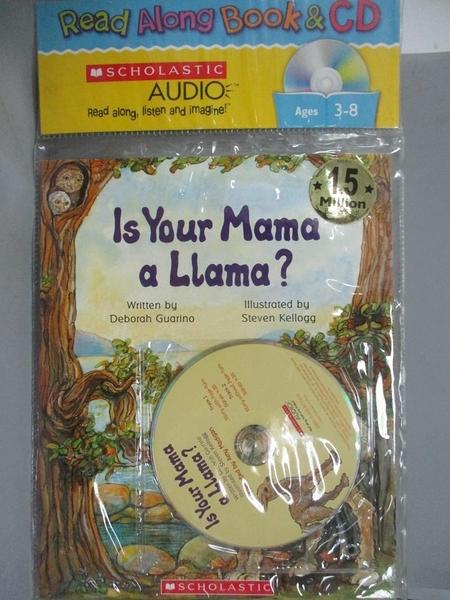 【書寶二手書T1/原文小說_KGR】Is Your Mama a Llama Read Along Trade_Guarino