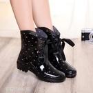 雨靴 防滑雨鞋女式雨靴女時尚水鞋女成人女...