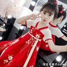 女童連衣裙夏裝2019新款兒童漢服中國風洋氣裙子夏季童裝女孩古裝 漾美眉韓衣