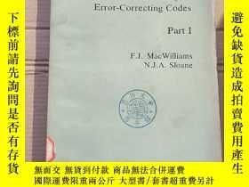 二手書博民逛書店the罕見theory of error-correcting codes part 1(P1681)Y173