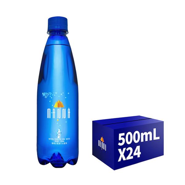 《MANNA瑪哪》天然蘇打礦泉水(無氣)500ml*24入