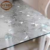 pvc桌布防水防油軟質玻璃塑料桌墊 cf 全館免運