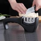 磨刀石 不銹鋼定角磨刀器快速磨刀石 廚房小工具家用磨菜刀磨刀棒【快速出貨八折鉅惠】