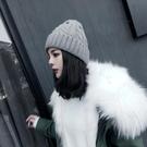帽子女冬毛線帽