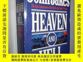 二手書博民逛書店Heaven罕見and Hell by John Jakes 英