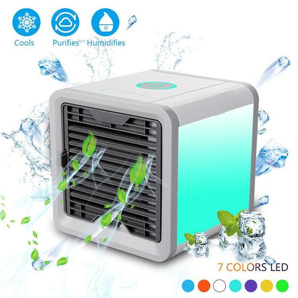 現貨  COOLER 空調風扇行動風扇USB迷你風扇 電風扇 靜音便攜空調  怦然心動