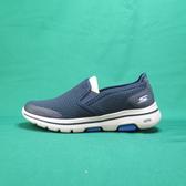 Skechers GO WALK 5 APPRIZE 健走鞋 55510NVY 藍 男款【iSport愛運動】