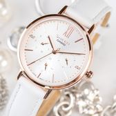 【人文行旅】Sheen | SHE-3064PGL-7AUDF  真皮優雅簡約腕錶