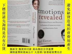 二手書博民逛書店Emotions罕見Revealed:Recognizing Faces and Feelings to Impr