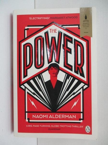 【書寶二手書T8/原文小說_APW】The Power_Naomi Alderman