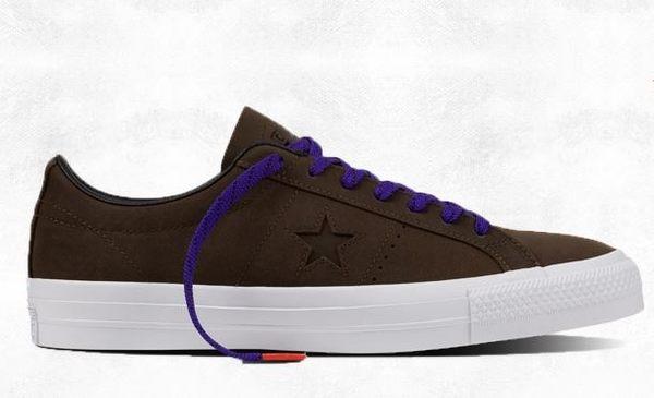 CONVERSE One Star Pro Leather 配色休閒鞋 NO.153481C