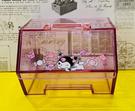 【震撼精品百貨】My Melody_美樂蒂~Sanrio 酷洛米掀蓋式透明置物盒-*00938