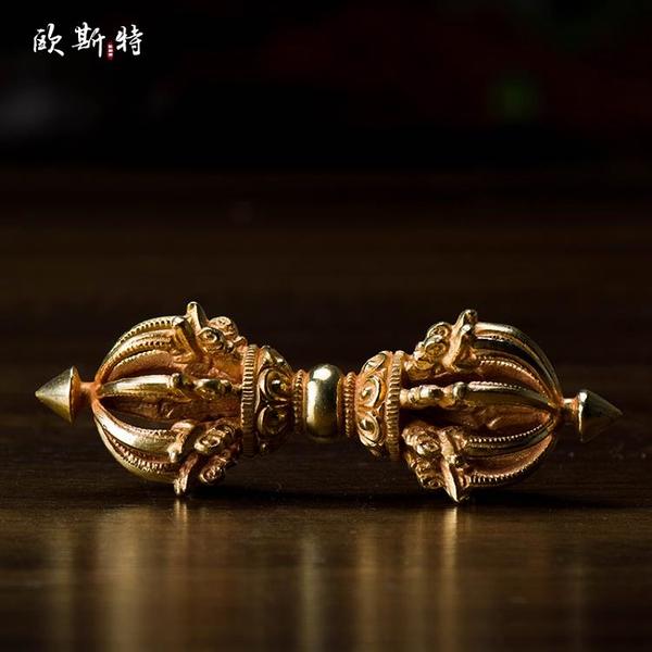 歐斯特 藏傳佛教供具 尼泊爾進口 手工紫銅全鎏金