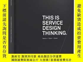 二手書博民逛書店This罕見Is Service Design ThinkingY364682 Schneider, Jako