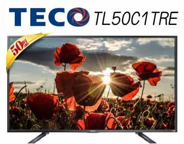 «免運費» TECO東元 50吋 FHD 廣色域不閃屏低藍光液晶電視 TL50C1TRE【南霸天電器百貨】