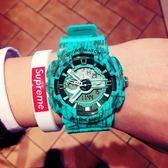 流行男錶-手錶男非機械潮流ulzzang數字式運動防水男女學生韓版簡約電子錶
