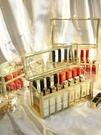 口紅收納盒多格歐式小奢華帶蓋防塵放化妝品的整理格大容量展示架