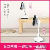 空氣循環扇西點直流變頻日本渦輪空氣對流扇家用搖頭落地電風扇 220V NMS陽光好物