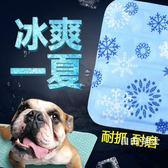 夏季狗狗涼席寵物冰墊凝膠涼墊夏天降溫貓咪狗墊子貓耐咬狗窩睡墊WY(中秋烤肉鉅惠)
