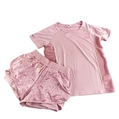 小禮堂 Hello Kitty 短袖短褲套裝 (大臉款) 4550337-61372