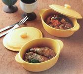 日本陶瓷【美濃燒】焗烤迷你小陶鍋 兩件組~烤箱適用 烘培 焗烤~日本製~