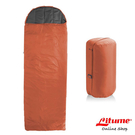 【Litume】C051保暖棉睡袋 330g『橘』C051 露營.登山.戶外.度假打工.背包客.自助旅行.居家