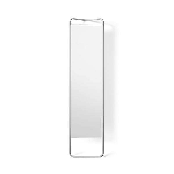 丹麥 Menu Kaschkasch Floor Mirror 卡思奇系列 工業風 落地式 立鏡(白色金屬框架)