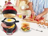 早餐機三明治漢堡機家用三明治機全自動漢堡機igo220V夏洛特