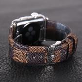 錶帶洽利 apple watch3錶帶真皮商務iwatch2 38/42mm蘋果手錶簡約錶帶 交換禮物