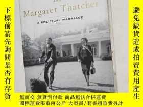 二手書博民逛書店Ronald罕見Reagan and Margaret Thatcher: A Political Marriag