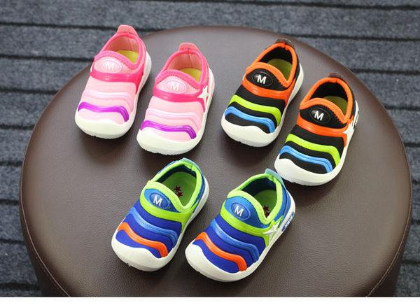 新款毛毛蟲童鞋春秋1-3歲寶寶運動鞋tz9559【KIKIKOKO】  全館滿千9折