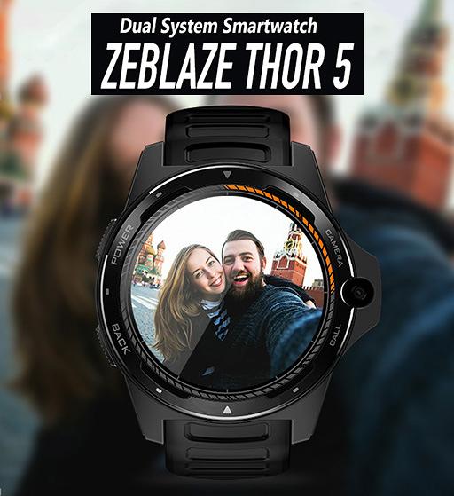 雙處理器 Zeblaze THOR 5 4G插卡 安卓 手錶手機 2+16GB 可通話上網 安卓 7.1 繁體中文