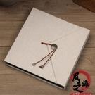 相冊 DIY手工相冊影集黏貼式寶寶成長情侶紀念本簡約布面文藝創意禮物【風之海】