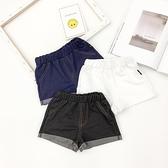 男童牛仔短褲 嬰童裝男童牛仔短褲夏季薄款百搭彈力嬰兒寶寶短褲子-Ballet朵朵