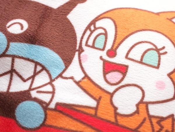 日本限定 麵包超人家族 火車 枕頭 抱枕 寢枕