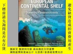 二手書博民逛書店Submerged罕見Landscapes of the European Continental Shelf: