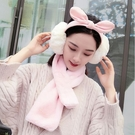 保暖耳罩 女冬季可愛兔耳朵蝴蝶結耳套