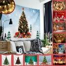 聖誕布置/交換禮物/送1.5米星星燈//萬聖節布置裝飾掛布-快樂萬聖節(沙灘巾 背景布 )【半島良品】