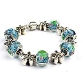 手鍊 串珠-琉璃飾品藍色海洋生日情人節禮物女配件73bm162【時尚巴黎】