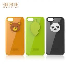 【A Shop】ECHO系列 Pittore x iPhone SE/5S/5 保護殼/背蓋 可愛系列