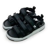 LIKA夢 LOTTO 潮流織帶運動涼鞋 ROMA系列 黑灰 6370 男